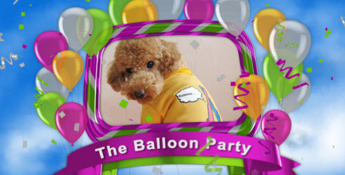 The Balloon Party (VideoHive) — After Effects Project
