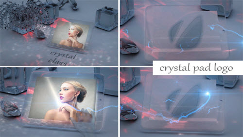Crystal Pad Logo - After Effect Project