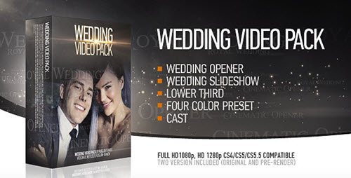 Wedding Pack - Projects for After Effects (VideoHive)