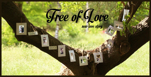 Tree Of Love - After Effect Project