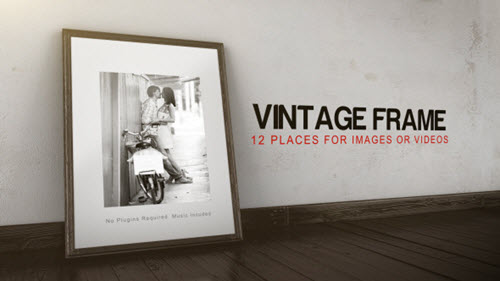 Vintage Frame Gallery - After Effect Project