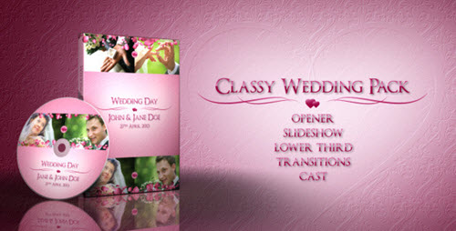 Classy Wedding Pack - After Effect Project