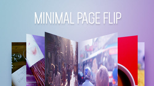 Minimal Page Flip  - After Effect Project