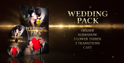Wedding Pack - After Effects Project Videohive