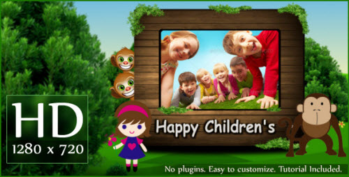 Happy Children's - After Effects Project