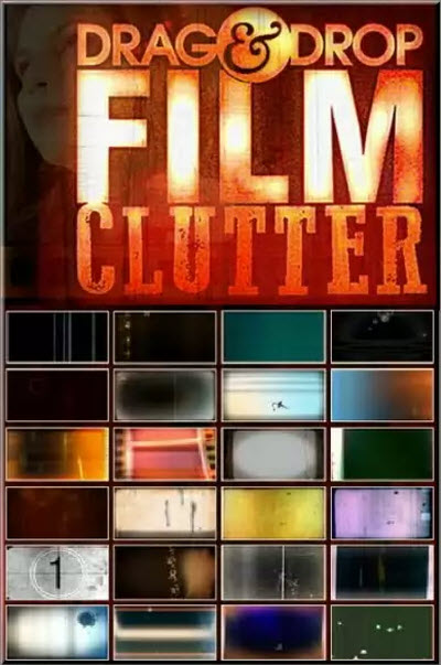 Digital Juice: Drag & Drop - Film Clutter