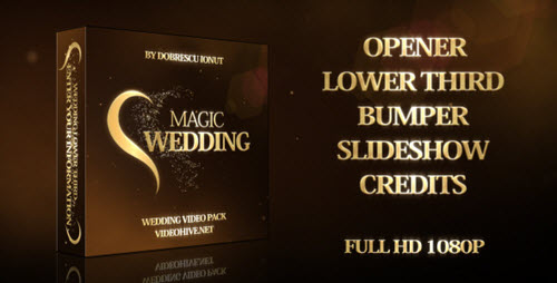 Magic Wedding  - After Effect Project