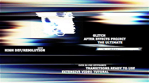 The Ultimate Glitch + 70 Presets Pack