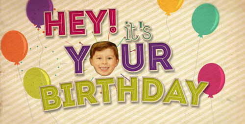 Videohive - Hey! It's Your Birthday - After Effects Project
