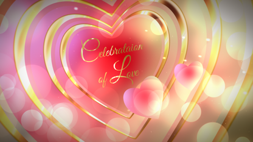 Celebration of Love - After Effect Project