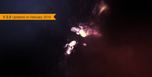Particle Rush - After Effect Project