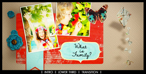 Scrapbooking Story Pack - After Effect Project