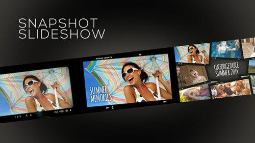 SnapShot Slideshow - Project for After Effects