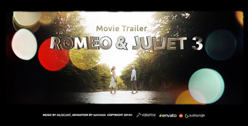 Romeo & Juliet 3 (Movie Trailer) - After Effect Project