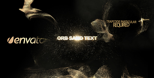 Orb sand intro 3 in 1 - Project for After Effects (Videohive)