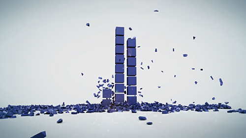 Rising Cubes Logo Reveal - Project for After Effects (Videohive)