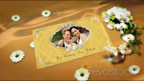 Wedding Memories Popping Album - Project for After Effects (REVOSTOCK)