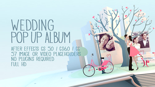 Wedding Pop Up Album - Project for After Effects (Videohive)