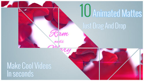 VideoHive - Animated Style Mattes Vol 1 + Camera Transition