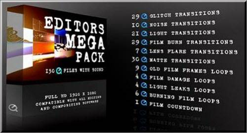 Футажи: Editors Mega Pack