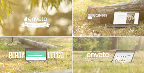Promo Web/Theme/Service In Laptop - Project for After Effects (Videohive)