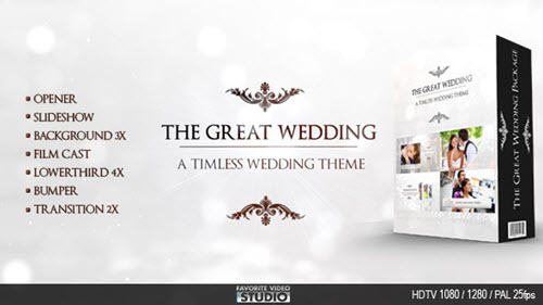 The Great Wedding Pack - After Effects Project