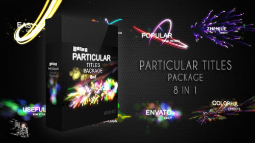 Quick Particular Titles Package - Project for After Effects (Videohive)