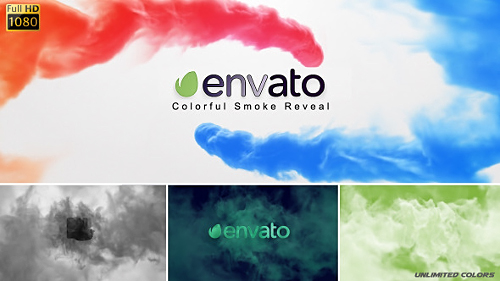Colorful Smoke Reveal - Project for After Effects (Videohive)