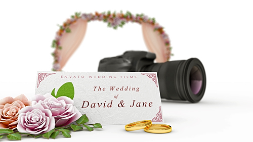 Wedding Film Intro - Project for After Effects (Videohive)