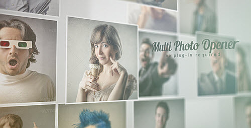 Multi Photo Opener - Project for After Effects (Videohive)