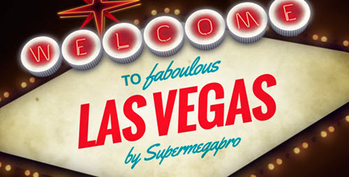 Welcome to Fabulous Vegas Logo Opener Animation - Project for After Effects (Videohive)