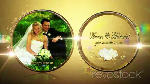 Our Royal Rings Wedding - Project for After Effects (REVOSTOCK)