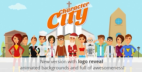 Character City V2 : Explainer/Animation Video ToolKit - Project for After Effects (Videohive)