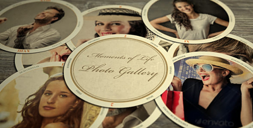 Moments of Life - Project for After Effects (Videohive)