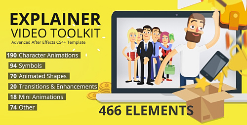 Explainer Video Toolkit - Project for After Effects (Videohive)