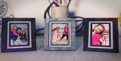 Photo Frames (Memories) - Project for After Effects