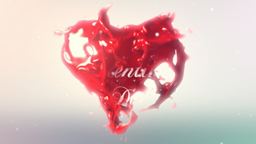 Valentines Heart Logo Reveal - Project for After Effects (Videohive)