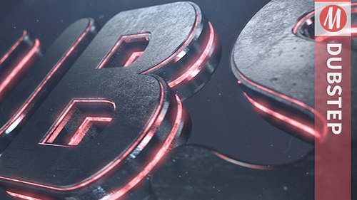 Dubstep | Element 3D Logo Reveal - Project for After Effects (Videohive)