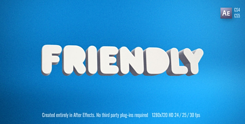 Friendly - Project for After Effects (Videohive)