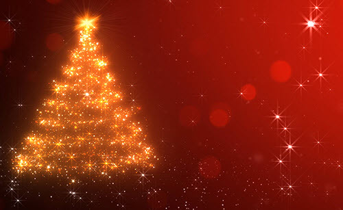 iStockVideo Loopable Christmas Background