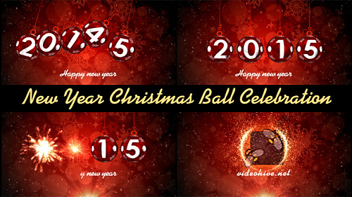 New Year Christmas Ball Celebration - Project for After Effects (Videohive)