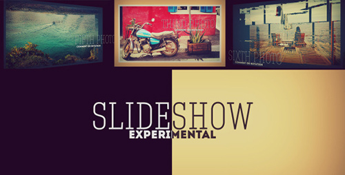 Experimental 3D Photo Slideshow - Project for After Effects (Videohive)