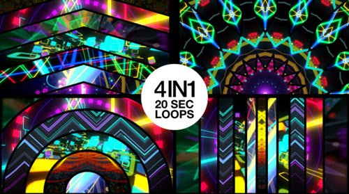 Videohive Mixed Stage Visuals