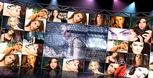 VideoWall Studio - Project for After Effects (Videohive)