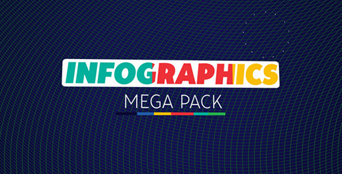 Infographics Mega Pack - Project for After Effects (Videohive)