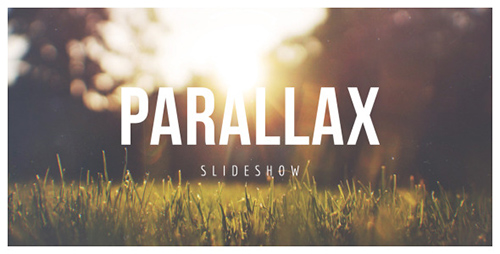 Parallax Scrolling Slideshow - Project for After Effects (Videohive)