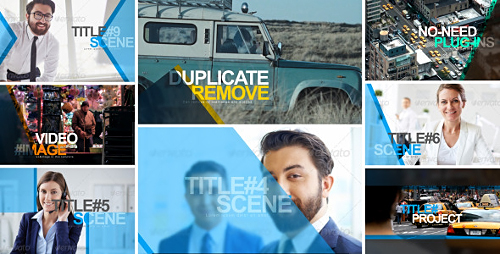 Simple Slideshow - Project for After Effects (Videohive)