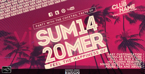 Summer Music Event - Project for After Effects (Videohive)