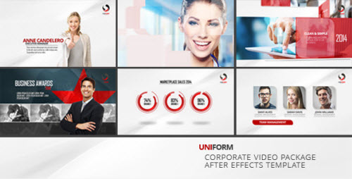 Uniform - Corporate Video Package - Project for After Effects (Videohive)