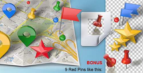 Map Generator with Real 3D Markers - Project for After Effects (Videohive)